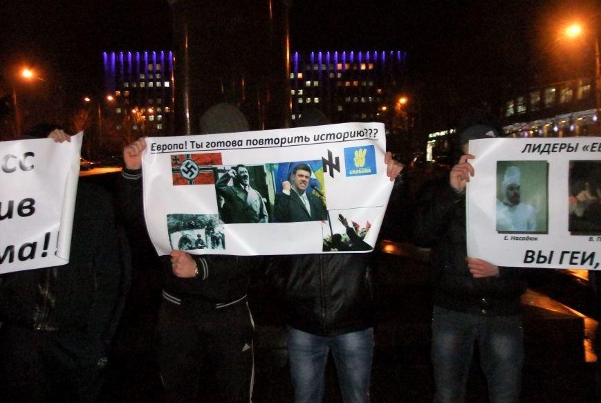 Рождественский вертеп на донецком Евромайдане попытались сорвать «борцы против курения» (фото, видео), фото-1