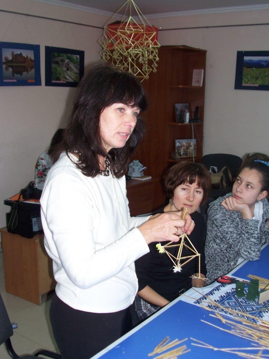 Різдвяний «павучок» об'єднав львівські сім'ї, фото-5