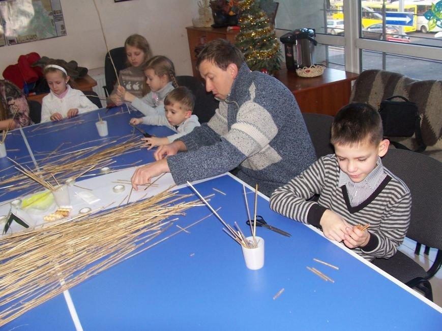 Різдвяний «павучок» об'єднав львівські сім'ї, фото-1