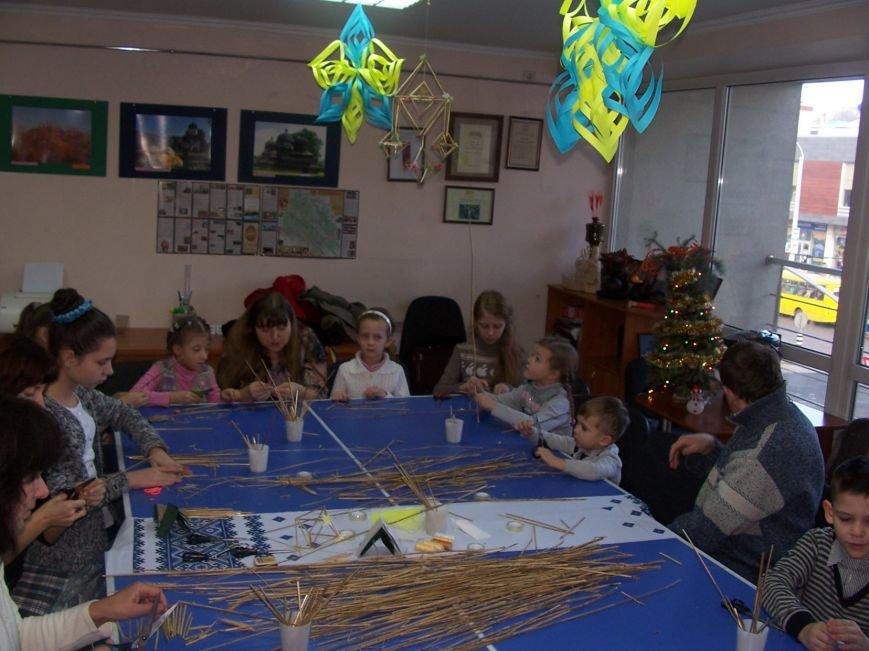 Різдвяний «павучок» об'єднав львівські сім'ї, фото-3
