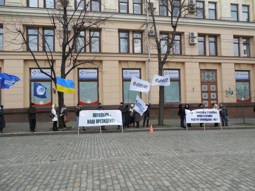 Центр Харькова заполонили «поклонники курса президента Януковича». Правда, многие не знают, зачем и почему пришли (фото), фото-5