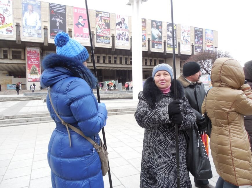 Центр Харькова заполонили «поклонники курса президента Януковича». Правда, многие не знают, зачем и почему пришли (фото), фото-1