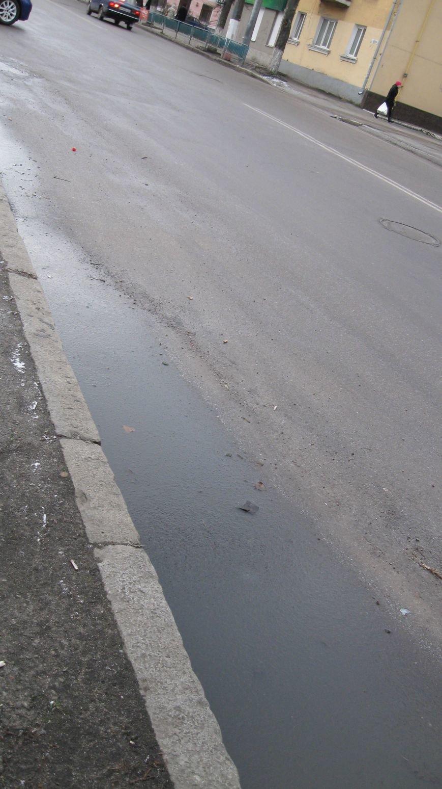 Житомирські дороги та узбіччя полонила ожеледь, фото-3