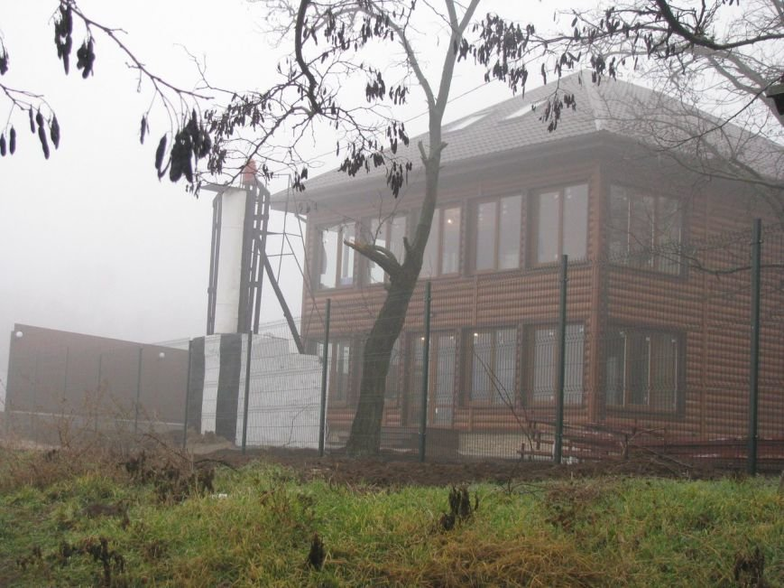 В Очакове вырубили деревья, которые мешали провести газ и воду в дом родственника николаевского депутата, фото-2