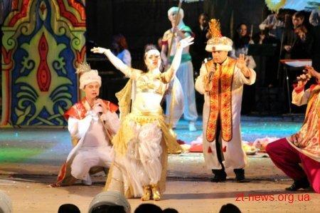 Житомиряни взяли участь у «Різдвяному каламбурі», фото-1
