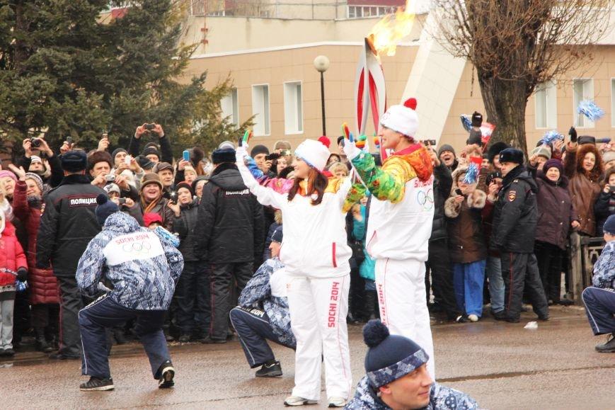 В Липецке проходит Олимпийская эстафета (ВИДЕО и ФОТООТЧЕТ), фото-13