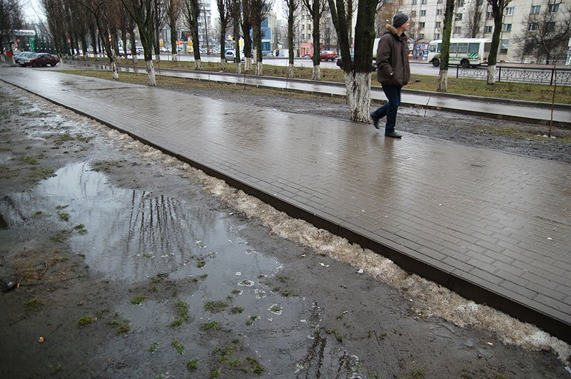 Январь 2014 в Белгороде: В ожидании зимы, фото-7
