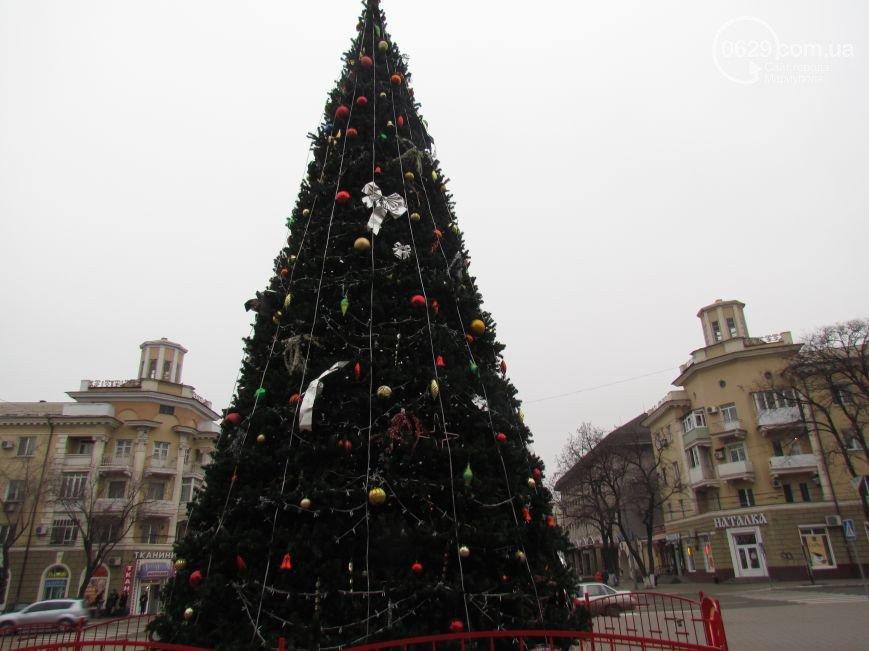 Отгуляли! В Мариуполе сегодня закроют районные елки (ФОТО), фото-2