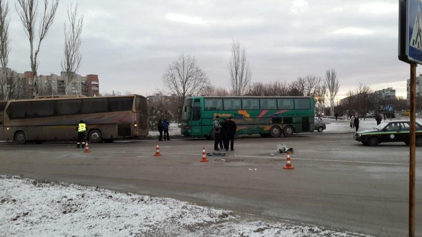 В Запорожье автобус с антимайдановцами переехал насмерть свою активистку (ФОТО), фото-1