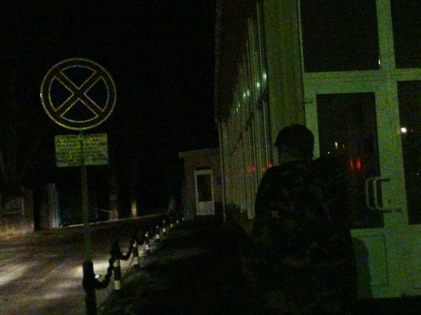В Мариуполе горел административный корпус СРЗ (ФОТО), фото-1