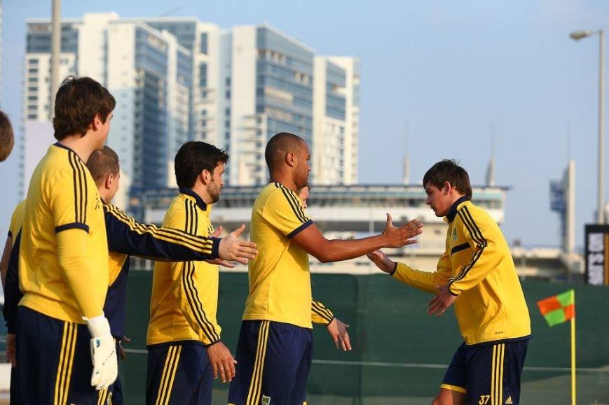Футбол через сетку и работа над «физикой»: «Металлист» продолжает сборы в ОАЭ (фото), фото-6