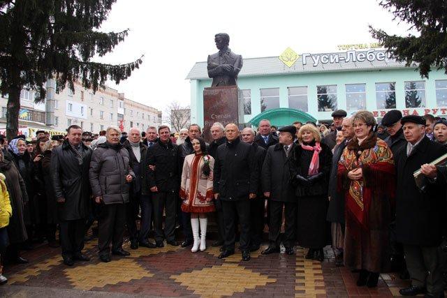 Горловчане создали памятник выдающемуся поэту Украины, фото-3