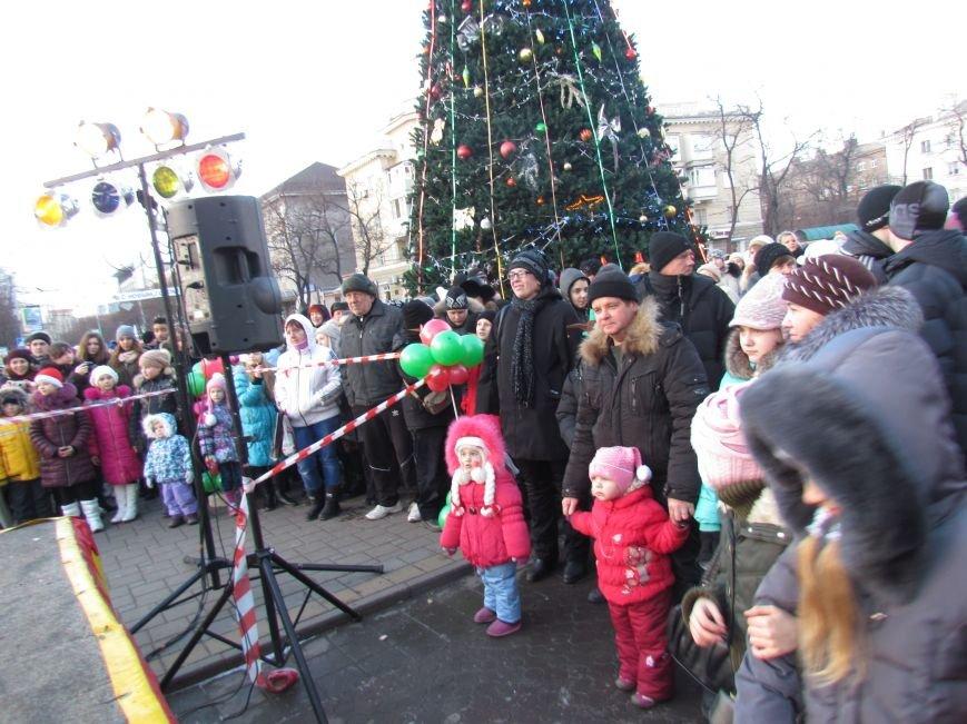 В Мариуполе с песнями прошел парад Снегурочек и Дедов Морозов (ФОТОРЕПОРТАЖ), фото-11