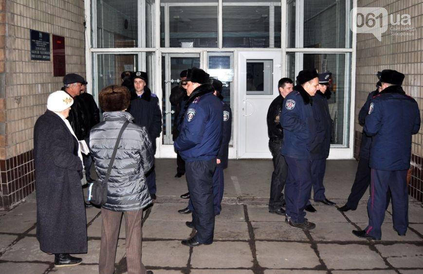 15 января: Запорожских общественников не пустили на собственное собрание, а двоим активистам Майдана испортили авто (ФОТО), фото-2