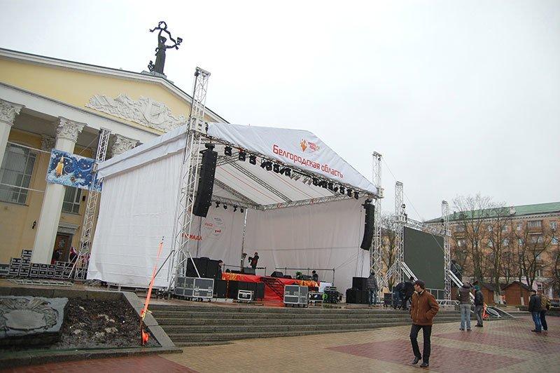 Как Белгород готовится принять Эстафету Олимпийского огня, фото-7