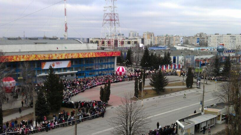 Эстафета Олимпийского огня в Белгороде [ВИДЕО], фото-13