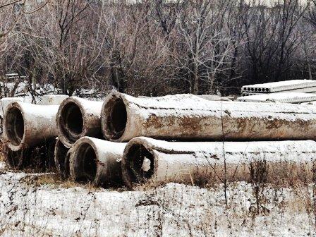 В Горловке в открытую разбирают водовод около посёлка Комарова, фото-3