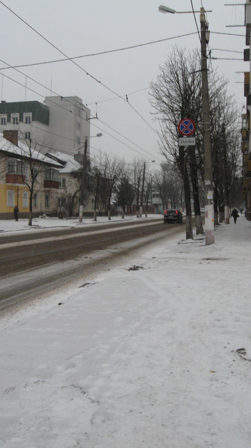 Житомир накрило...снігом та приморозками, фото-3