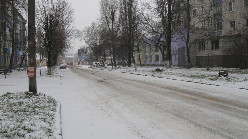 Житомир накрило...снігом та приморозками, фото-5