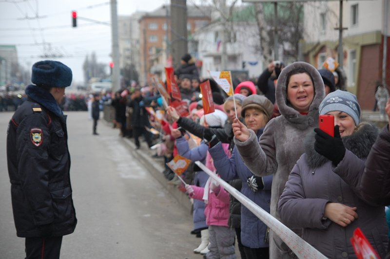 Остановленные мгновения Эстафеты Олимпийского огня в Белгороде, фото-5