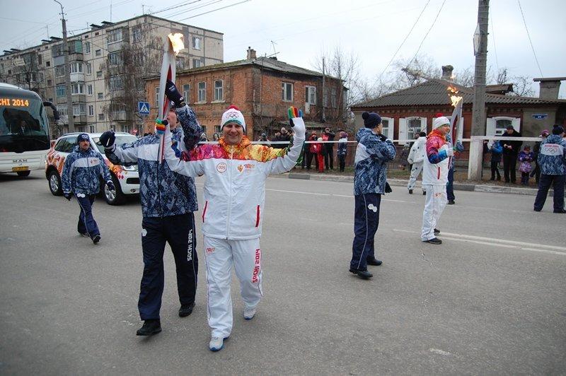 Остановленные мгновения Эстафеты Олимпийского огня в Белгороде, фото-3