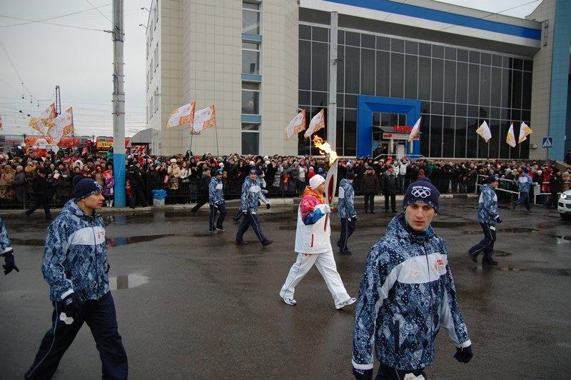 Остановленные мгновения Эстафеты Олимпийского огня в Белгороде, фото-2