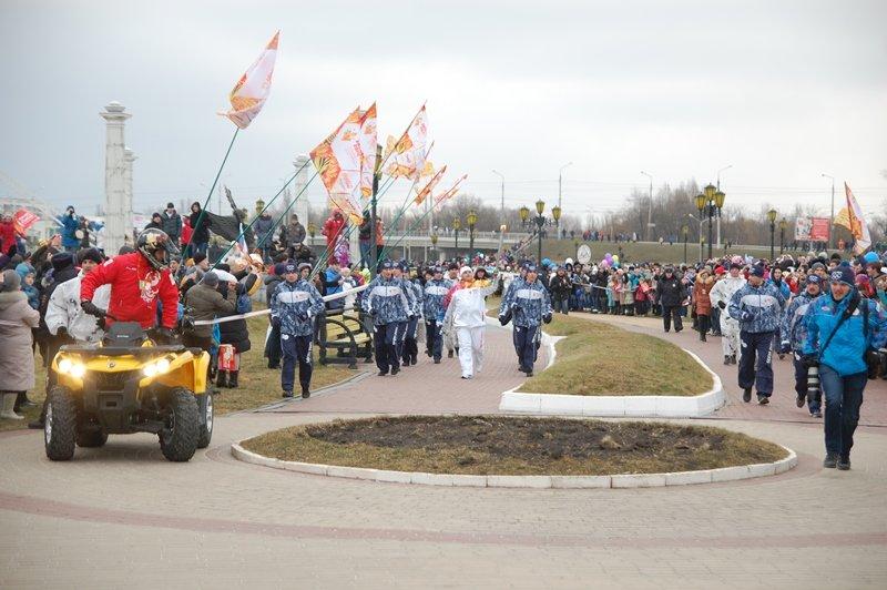 Остановленные мгновения Эстафеты Олимпийского огня в Белгороде, фото-9