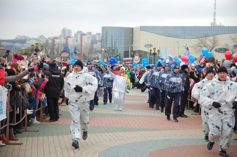 Остановленные мгновения Эстафеты Олимпийского огня в Белгороде, фото-6