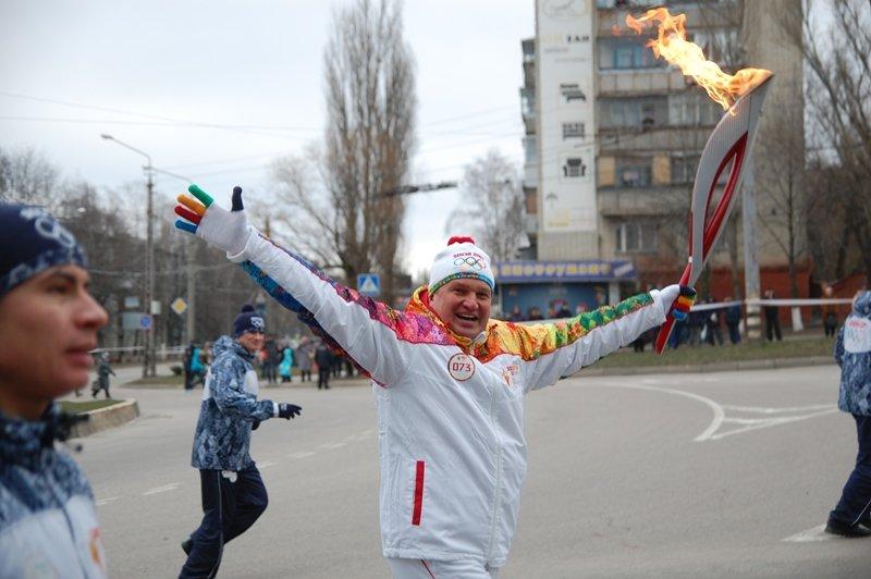 Остановленные мгновения Эстафеты Олимпийского огня в Белгороде, фото-11