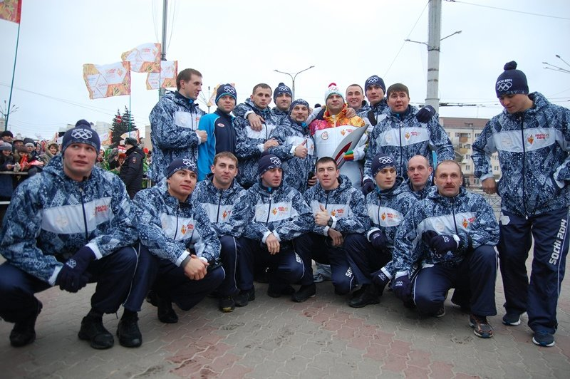 Остановленные мгновения Эстафеты Олимпийского огня в Белгороде, фото-1