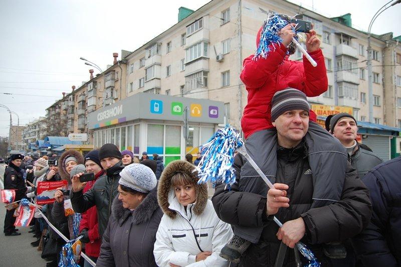 Зрители Эстафеты: Как Белгород встречал Олимпийский огонь, фото-10
