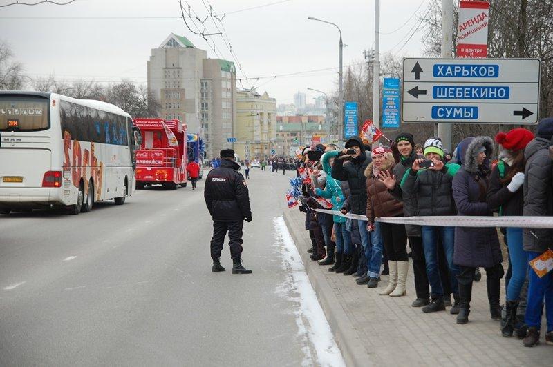 Зрители Эстафеты: Как Белгород встречал Олимпийский огонь, фото-9