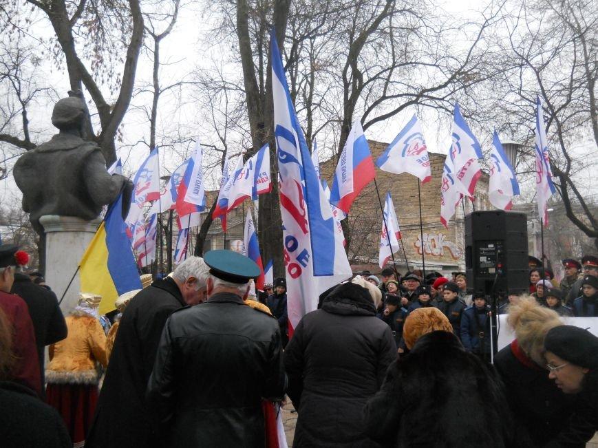 Митинг в честь юбилея Переяславской Рады в Симферополе: славили Хмельницкого и пели гимн СССР (ФОТО), фото-3
