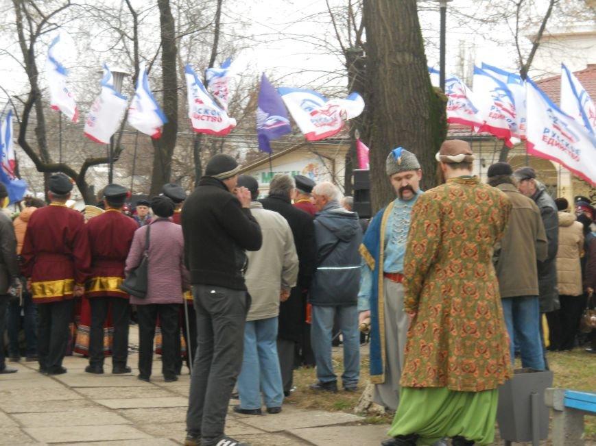 Митинг в честь юбилея Переяславской Рады в Симферополе: славили Хмельницкого и пели гимн СССР (ФОТО), фото-5