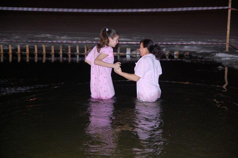 Крещение в Белгороде: Праздник в ледяной воде (фото) - фото 5