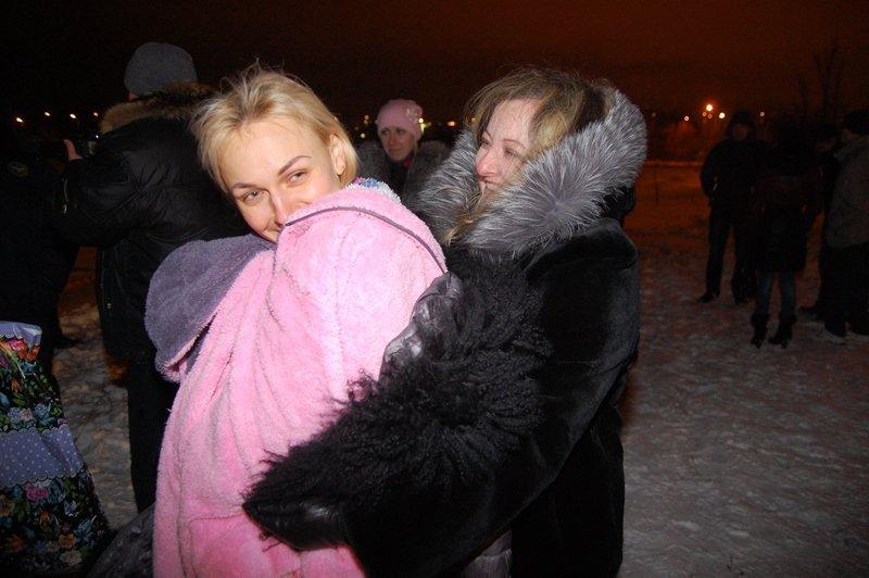 Крещение в Белгороде: Праздник в ледяной воде (фото) - фото 1