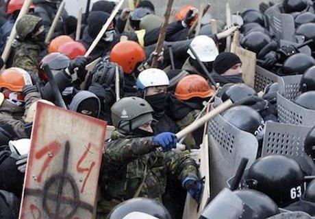 У Києві – сутички мітингуючих з міліцією, Кличка «погасили» (фото, відео), фото-5