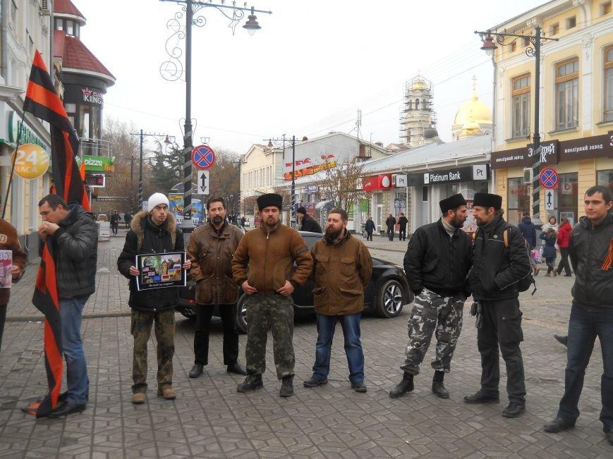 В центре Симферополя митинговали за объединение «русских народов» и в поддержку «Беркута» (ФОТО, ВИДЕО), фото-5