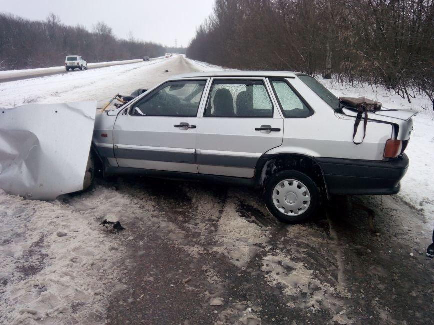 В автоаварии на дороге Горловка-Донецк пострадало три человека, фото-1
