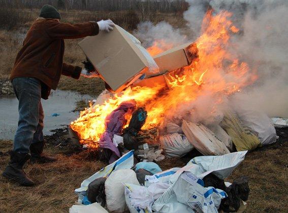 Інквізиція на Житомирщині: на вогні спалювали коноплю та мак, фото-1