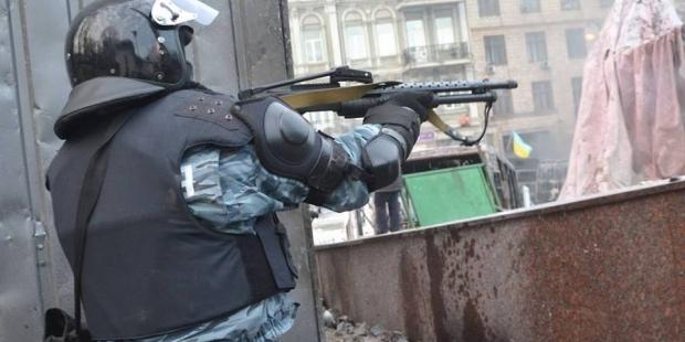 «Беркутівці» вже не приховують, що стріляють у людей (фото), фото-3