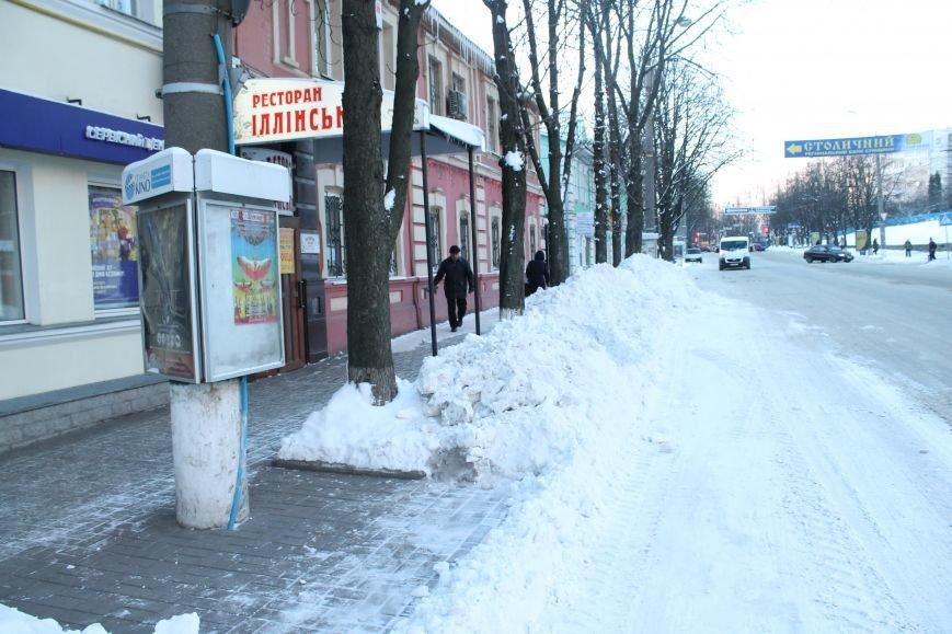 В Сумах из-за снега на дороге разгорелся скандал (ФОТО), фото-2