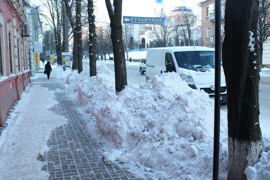 В Сумах из-за снега на дороге разгорелся скандал (ФОТО), фото-3