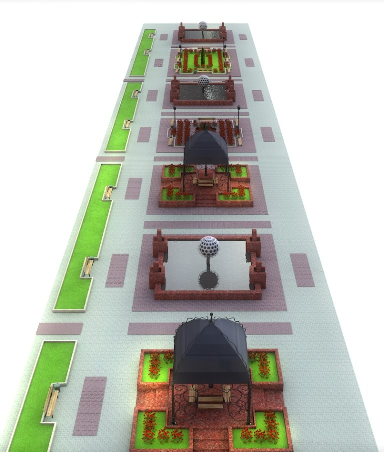Проект реконструкции Топталовки: как будет выглядеть главная площадь Артемовска (ФОТО), фото-5