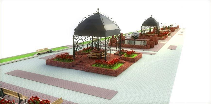 Проект реконструкции Топталовки: как будет выглядеть главная площадь Артемовска (ФОТО), фото-7