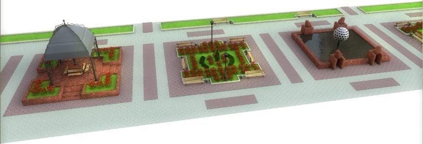Проект реконструкции Топталовки: как будет выглядеть главная площадь Артемовска (ФОТО), фото-4