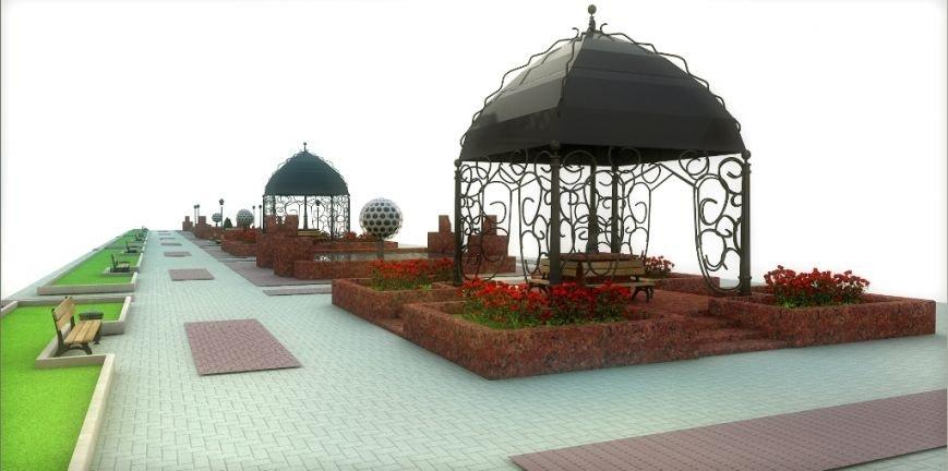 Проект реконструкции Топталовки: как будет выглядеть главная площадь Артемовска (ФОТО), фото-3