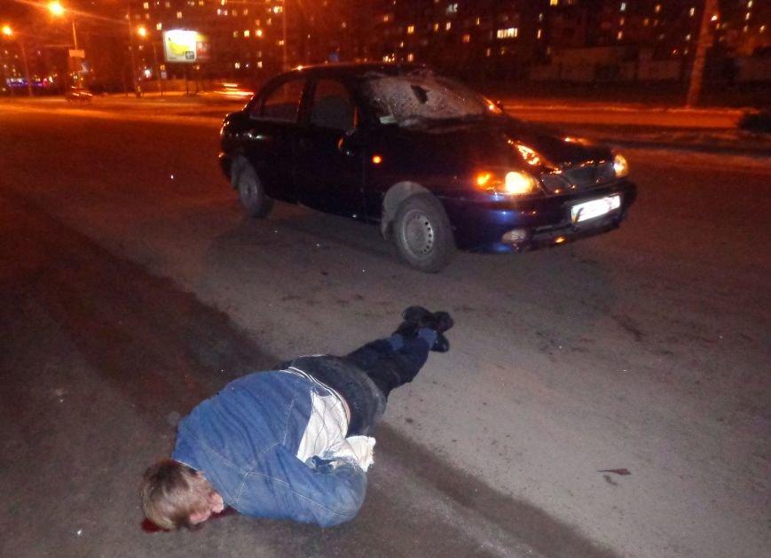 В Запорожье водитель «Ланоса» сбил пешехода, выскочившего на дорогу (ФОТО), фото-3