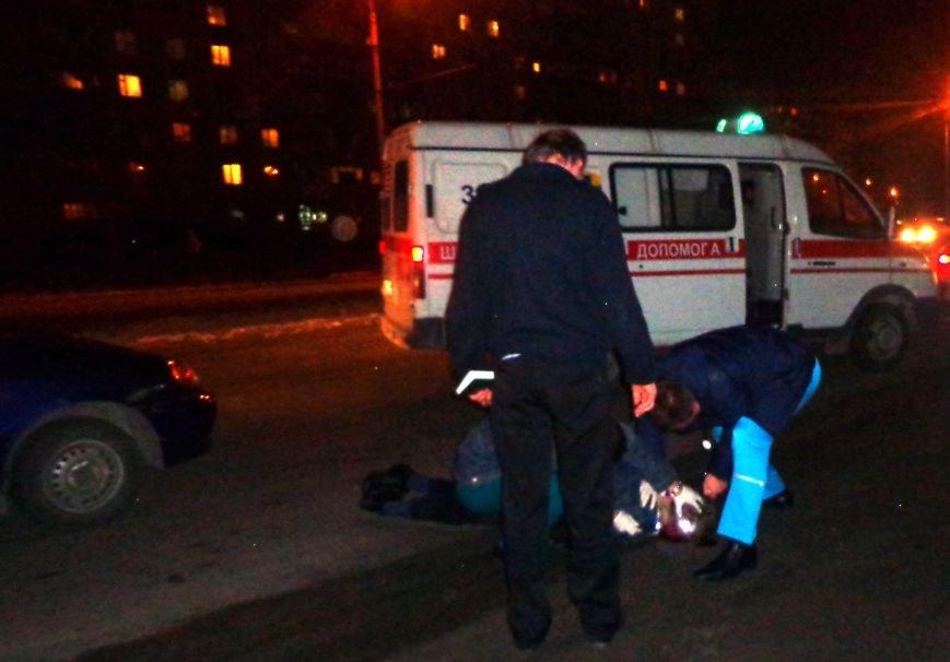 В Запорожье водитель «Ланоса» сбил пешехода, выскочившего на дорогу (ФОТО), фото-2