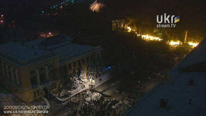 Бои в Киеве: ночь с 22 на 23 января (ФОТО, ОБНОВЛЯЕТСЯ), фото-1